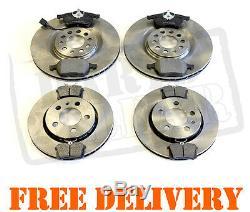 AUDI TT 1.8 TURBO 225 BHP AVANT ET plaquettes frein disques ARRIERE PADS 1998-20