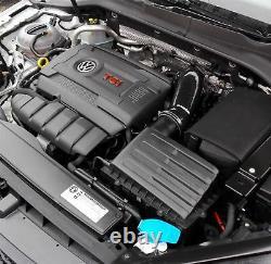 Bleu RAMAIR Silicone Tuyau Admission & Turbo Coude VW Golf Gti R Clubsport