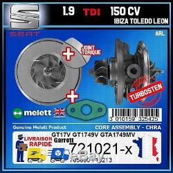 CHRA Melett Seat Ibiza Toledo Leon 1.9 TDI 150 ARL BTX BPX Turbo 742614 703890