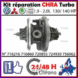 CHRA coeur TURBO Cartouche SEAT LEON 2.0 TDI 140 BKD GARRETT GT1749V 724930 /935
