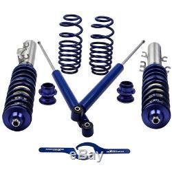 Combinés filetés Suspension Kit pour VW Golf MK4 1.8 T TURBO Réglable Coilove