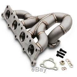 Direnza 3 MM Inox Rs Collecteur Turbo D'echappement Pour Audi A3 S3 8l 1.8t 20v