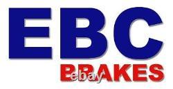 EBC Disques de Frein Turbo Groove avant Pour Seat Leon 1 (1M) GD1338