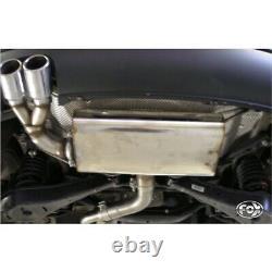 Fox Silencieux Sport 2x76 Type 17 Pour Seat Leon 1P Turbo