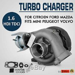 GT1544V Turbo TURBOCOMPRESSEUR pour mini Volvo Ford Mazda 1.6 753420