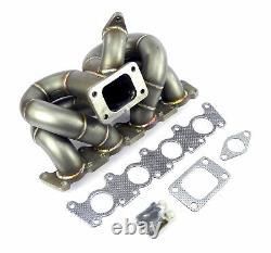 Inox 3mm Collecteur de Charge Choc Turbo-Distributeur T3 Audi VW 1,8T 20V GT30