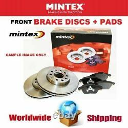 MINTEX Essieu Avant Frein Disques + Set Plaquettes pour Seat Leon 1.8 Turbo 4x4