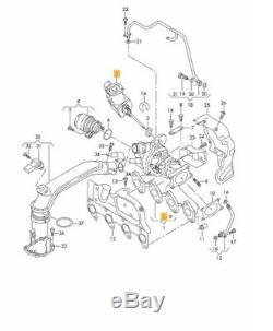 Neuf D'Origine VW Audi Seat Skoda 1.2 Moteur Turbo Wastegate Actionneur