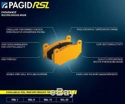 Pagid RSL29 Plaquette Frein Arrière pour Audi A3 1.8 20V 96-03/A3 1.8 20V Turbo