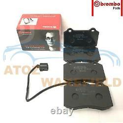 Pour Seat Leon 1.8 T Turbo Cupra R Avant Perforé Frein Disques Brembo Pads 323mm
