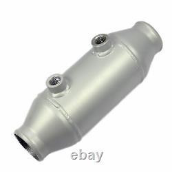 Refroidi par Eau Aluminium Intercooler 100mm X 150mm Rond Eau Turbo Llk