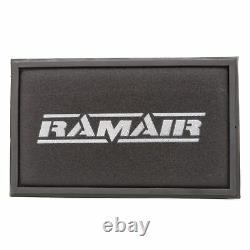 Rouge RAMAIR Filtre Air Panneau Tuyau Admission & Turbo Coude VW Golf Gti R