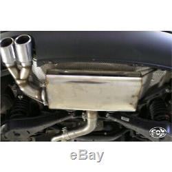 Seat Leon 1P Turbo Silencieux Sport 2x76 Type 17 de Fox