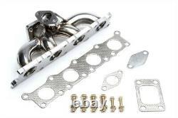 TA Technix Inox Turbo-Collecteur T3 Bride Soupape de Décharge Prise 1.8T Audi VW