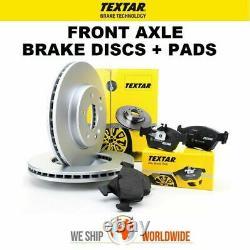 TEXTAR Essieu Avant Frein Disques + Plaquettes de pour Seat Leon 1.8 Turbo 4x4