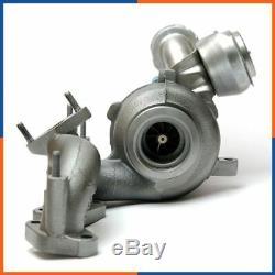 Turbo Chargeur pour DODGE CALIBER 2.0 CRD 140cv 756062-5004S, 756062-5003S