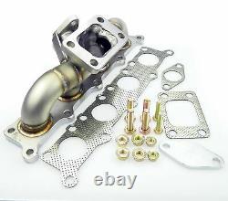 Turbo-Distributeur Collecteur/Raccord Coudé En SS321 Inox 3mm Paroi 1.8T 20V T3