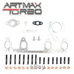 Turbo pour Audi Seat Skoda Volkswagen 1.9 Tdi 74kw Axr 038253016n 038253014d