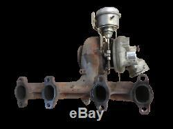 Turbocompresseur Turbo Turbocompresseur à gaz d'échappement pour Golf Plus 5M