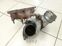 Turbocompresseur Turbo Turbocompresseur à gaz d'échappement pour Passat 3C B6 0