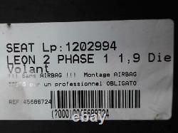 Volant SEAT LEON 2 PHASE 1 1.9 TDI 8V TURBO /R45688724